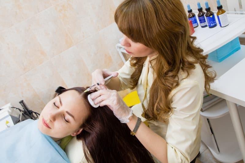Авторская методика восстановления структуры волос «Quantum»